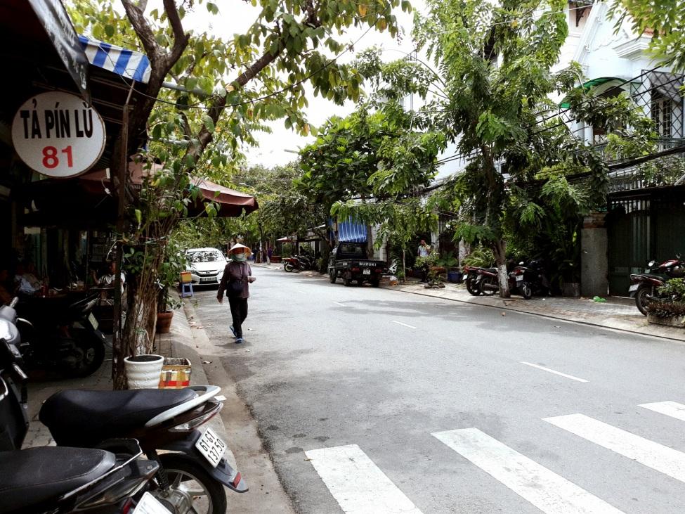 Bild eines Stadtviertels in Saigon