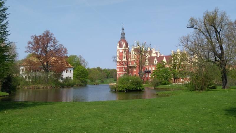 Neues Schloss im Muskauer Park