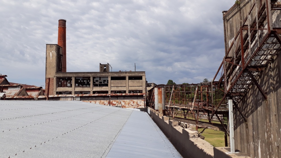 Die Welterbestätte Paisaje Industrial Fray Bentos in Uruguay