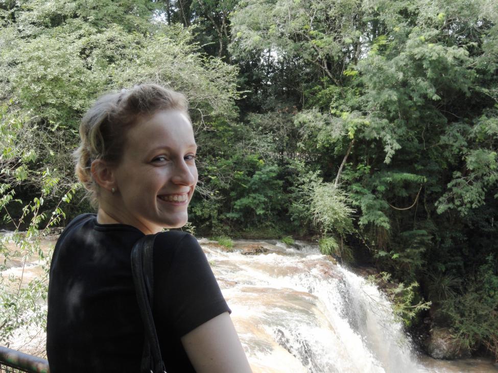 Emily während ihres FSJ in Argentinien