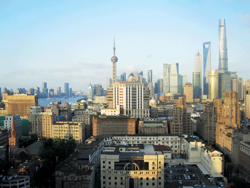 Panorama von Schanghai