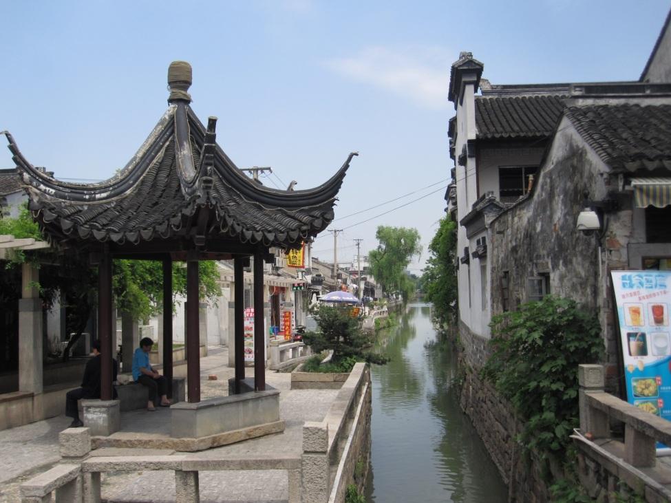 Kanal in Shanghai