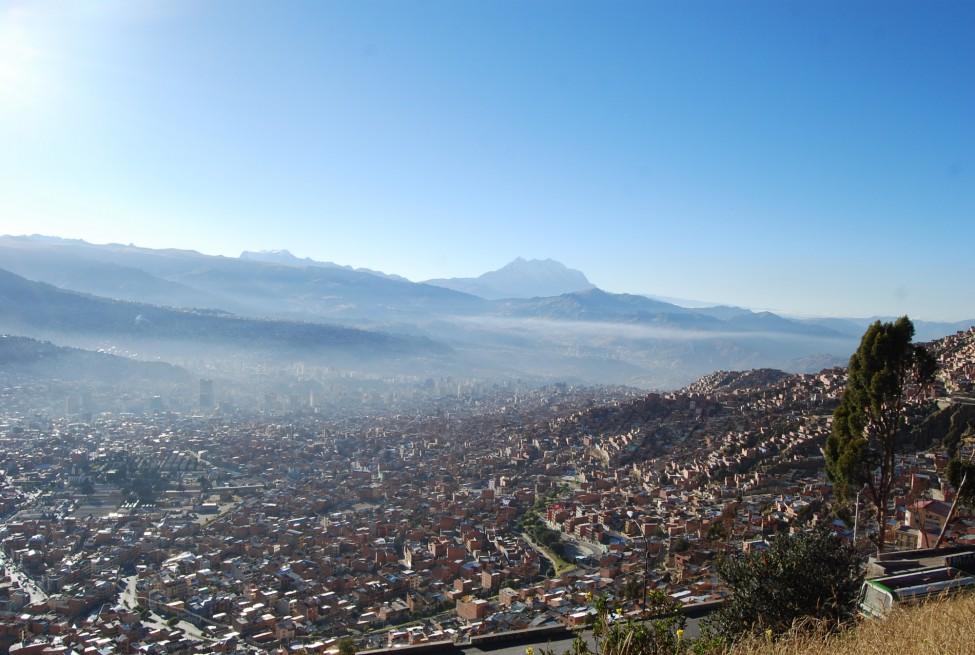 Landschaft in Bolivien