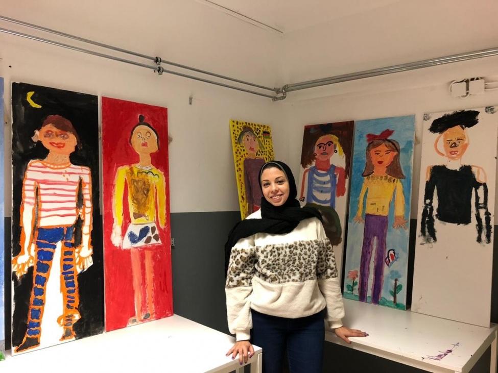 Nehal Abdel Hameed ist eine der 12 Incomerinnen 2019