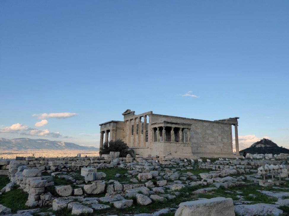 Foto einer antiken, griechischen Stätte