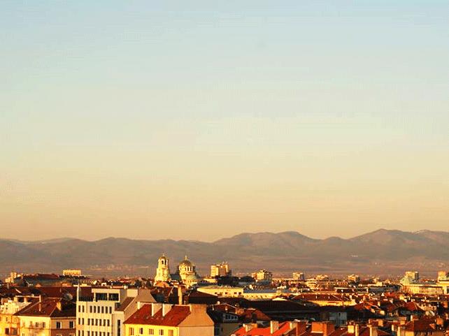 Panorama von Sliven