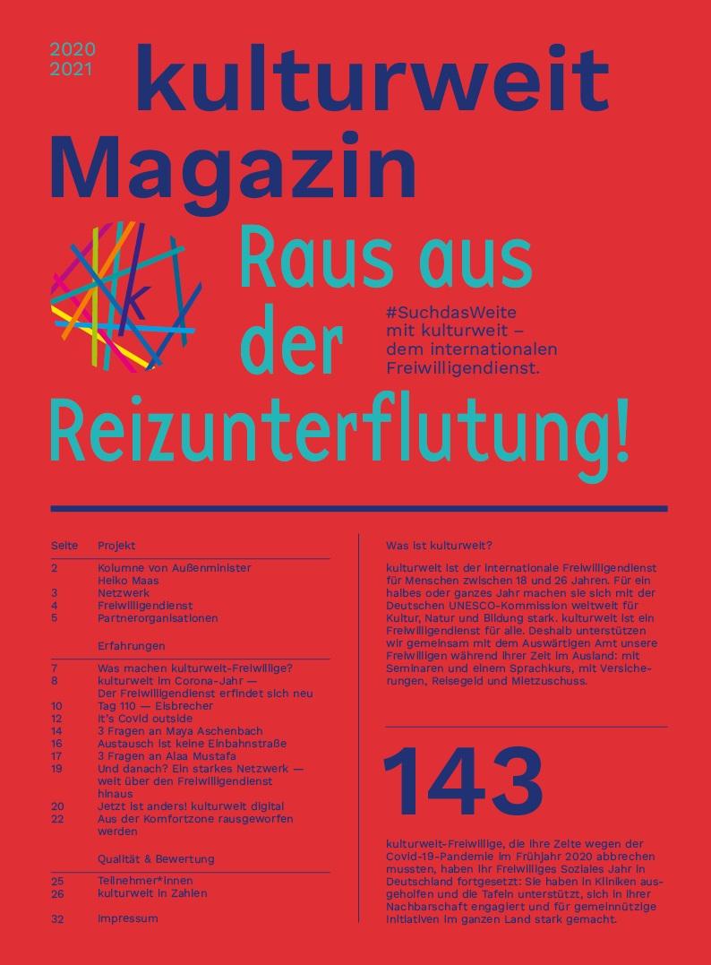 kulturweit-Magazin 2020-2021