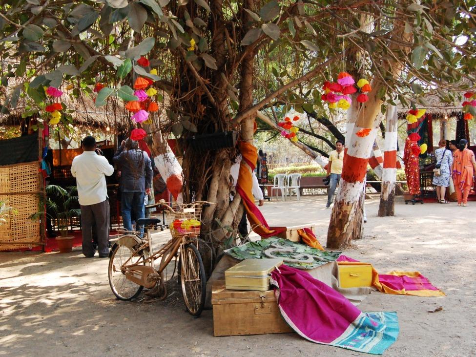 Marktszene in Pune
