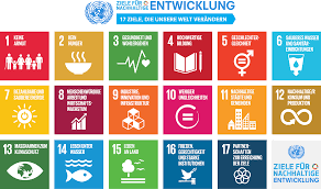 Kachelübersicht der 17 UN-Sustainable Development Goals