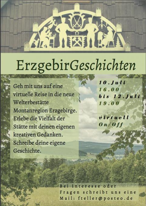 Plakat Seminar Erzgebirge