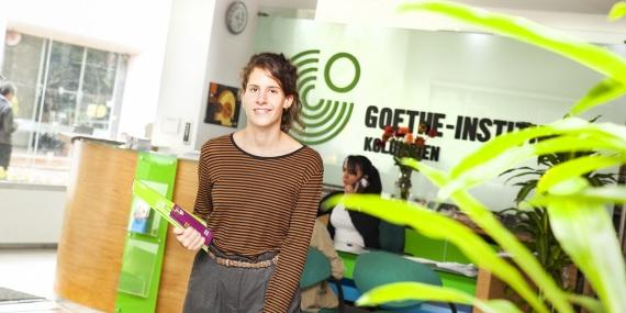 kulturweit-Freiwillige am Goethe-Institut in Bogota, Kolumbien