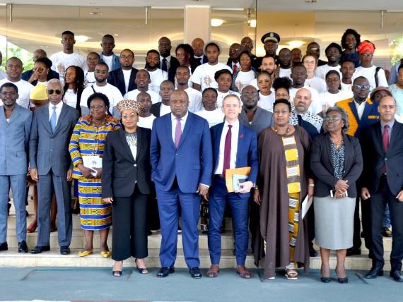 Imagine Africas Futures - Konferenz in Gabun, Gruppenfoto
