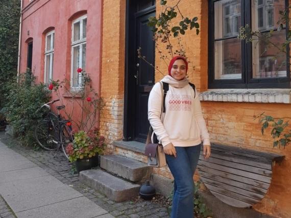 Radwa Essam verbachte drei Monate in Frankfurt an der Oder