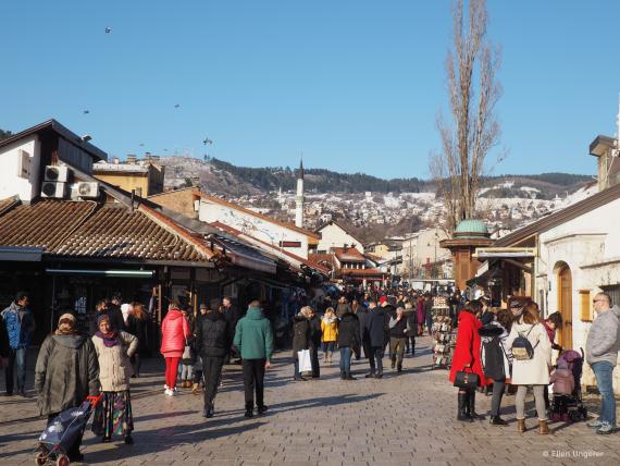Ellen Ungerer hat mit kulturweit ein Jahr in Sarajevo verbracht